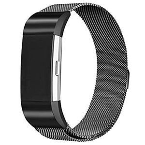 Accessories - Fitbit Charge 2 Band Small Metal Black